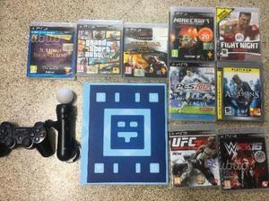 Ps3 con accessori e giochi