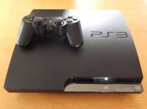 Ps3 slim 120gb + dualshock 3 + 5 giochi