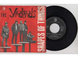 Raro yardbirds 45 shapes of things 1a stampa66 nuovo