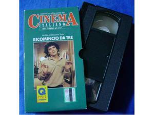 Ricomincio da Tre - Film di Massimo Troisi in VHS