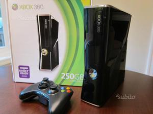 Xbox 360 slim 250 gb come nuova