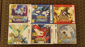 6 giochi pokemon per nintendo 3ds xl e 2ds