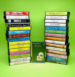 Audiocassette artisti sardi