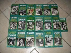 Collezione john wayne in vhs