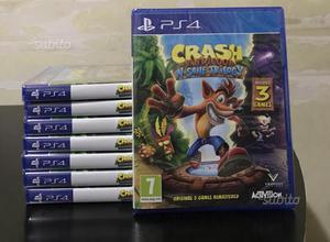 Crash bandicoot n'sane trilogy ps4 nuovi sigillati