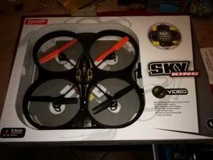 Drone Sky King 4 canali con telecamera, radiocomando, micro