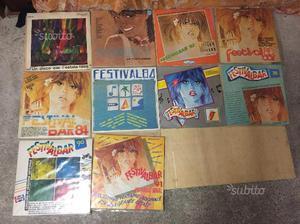 LP 33 giri dischi vinile festivalbar