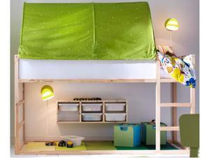Tenda Per Letto A Castello Ikea : Tenda baldacchino cielo kura ikea letto lettino posot class