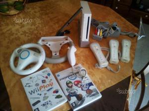 Nintendo wii e accessori