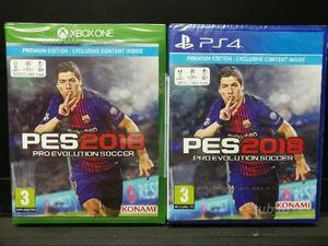 Pes  PS4 nuovi sigillati