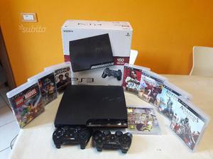 PlayStation 3 + 2 controller e 8 giochi
