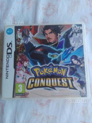 Pokemon conquest raro ds