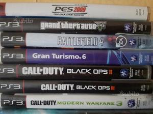 Ps3 con vari giochi