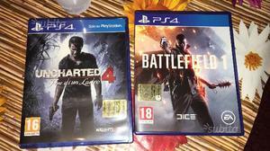 Uncharted 4 e battlefield 1