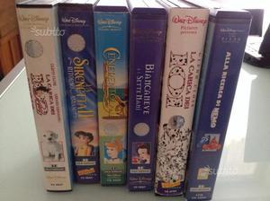 VHS cassette originali Walt Disney