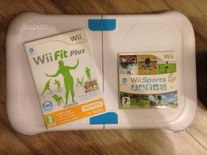 Wii + balance board + giochi + accessori