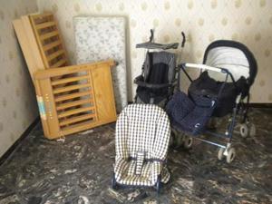Culla passeggino carrozzino sediolina posot class for Arredamento neonato