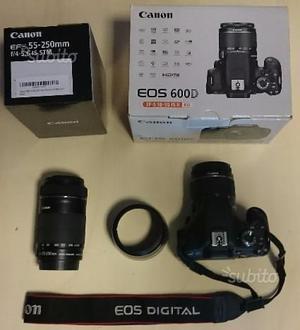 Canon 600d + obiettivi