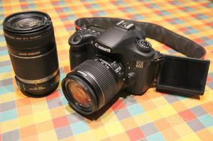 Canon Eos 60D + obiettivi IS II