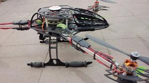 Drone Esacottero Y6 con 6 eliche con radiocomando