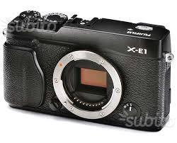 FUJI XE1 +FUJINON OBIETTIVO LENS XF 18mm f/2