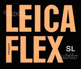 Leica Libretti vari Leicaflex Serie M R Leicameter