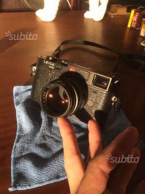 Leica Summilux 50 + Leica M6