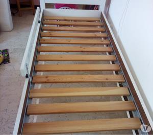 Letto singolo in legno usato   Posot Class