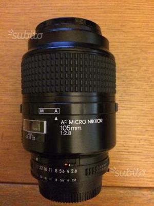 Nikon 105mm Micro f/2.8 FX