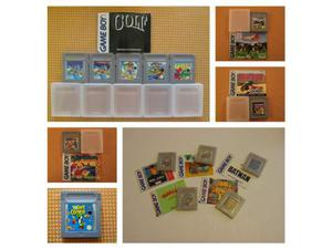Nintendo game boy classic giochi+carry-all