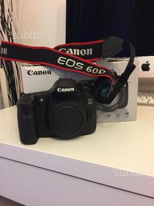 Reflex Canon 60d solo  scatti