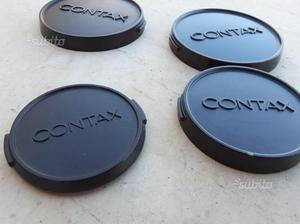 Tappi anteriori originali per obiettivi contax