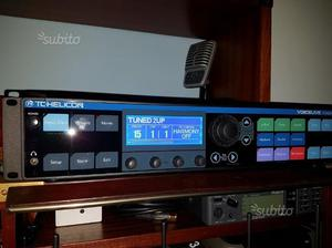 Tc Helicon Voice Live Rack harmonizer voce