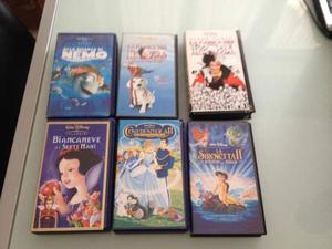 Vendo VHS cassette originali Walt Disney