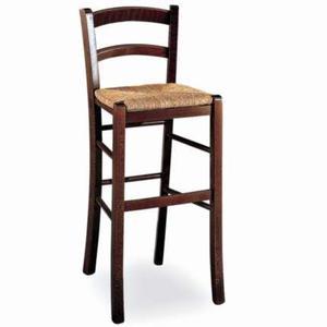 sgabello venezia sedile paglia in faggio