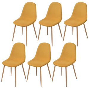 6 sedie vintage anni 3960 sala pranzo posot class - Sedie per sala pranzo ...