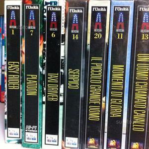 10 film storici VHS