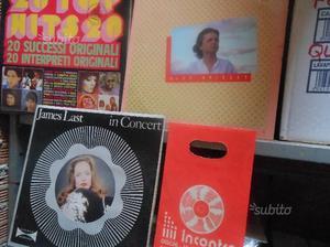 110 dischi LP in vinile anni 80 come nuovi