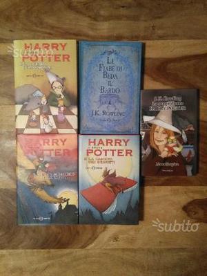 Harry Potter libri da collezione