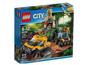LEGO City Jungle Missione nella giungla con il semicingolato