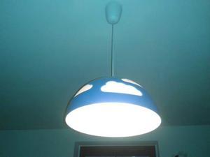 Lampadario in tessuto per camera bambini posot class - Ikea lampadario bambini ...