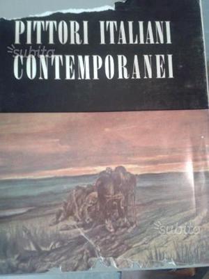 Libro PITTORI ITALIAN CONTEMPORANEI