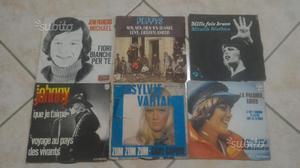 Lotto 29 dischi 45 giri originali francesi