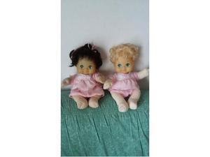 My child coppia di bambole con testa in vinile