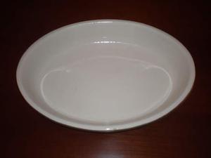 Pirofila per sformati in ceramica Ovale