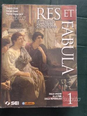 """""""Res et fabula 1"""", Libro di Latino per Liceo"""