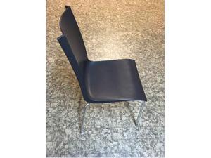 Sgabello sedia bar design colore nero e legno posot class
