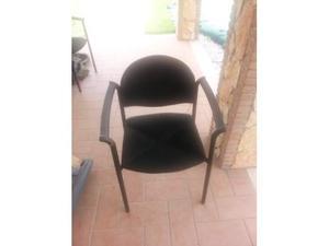 Sedie da ufficio 7 sedie impilabili consegna domicilio