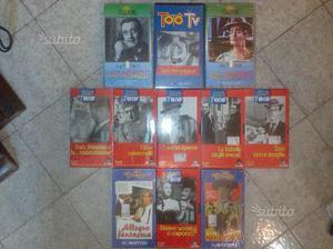 Totò Film collezione Vhs (N°11 Videocassette)