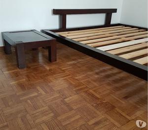 Vendo letto e comodino in stile giapponese